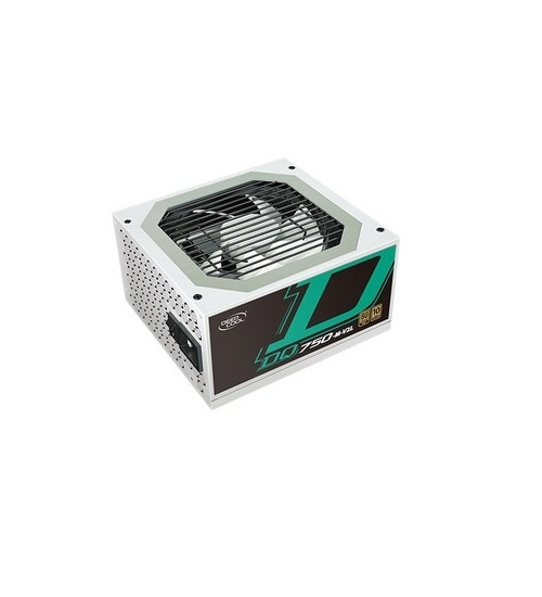 Alimentatore ATX modulare Deepcool DQ750 750Watt 80+ Gold di colore bianco