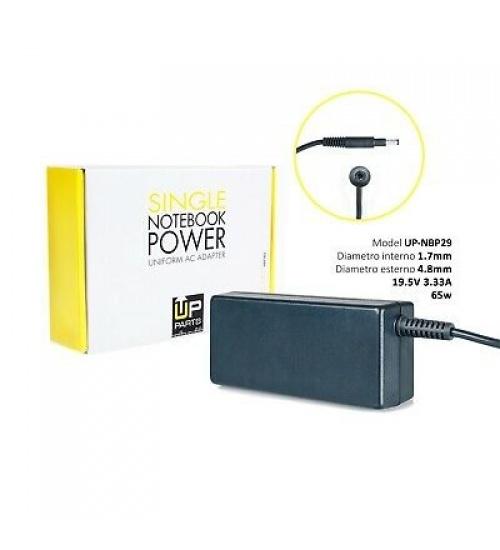 Alimentatore compatibile con notebook HP da 65W 19.5V 3.33A