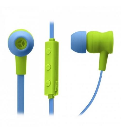 Auricolari Wireless V 5.0 con microfono integrato, tasti di risposta e fine chiamata, regolazione volume e cambio traccia, colore verde