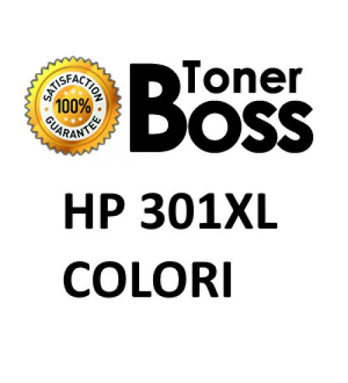 Cartuccia compatibile HP 301XL ciano, magenta, giallo