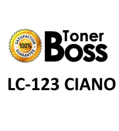 Cartuccia compatibile Brother LC-123 ciano