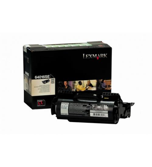 Toner nero Lexmark 64016SE