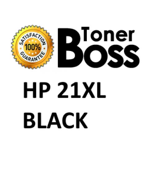 Cartuccia compatibile HP 21XL nera