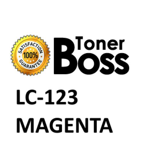 Cartuccia compatibile BROTHER LC-123 magenta