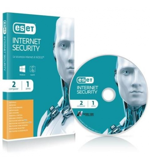 Aggiornamento Nod32 Eset internet security per un anno e due utenti