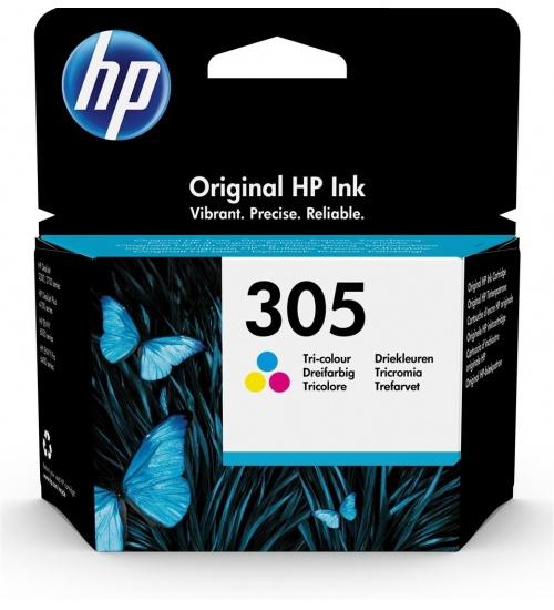 Cartuccia HP 305 colori ciano, magenta e giallo