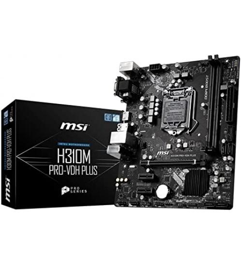 Scheda madre MSI H310M PRO-VDH PLUS Micro ATX Socket 1151
