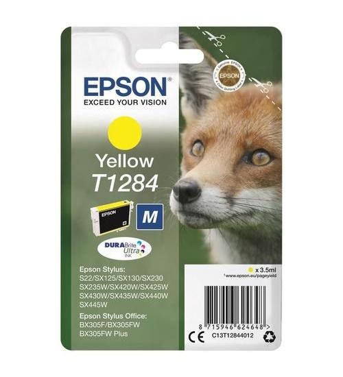 Cartuccia originale Epson T1284 gialla