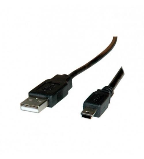Cavo da USB 2.0 Type A a 5 pin Mini USB da 1.80m