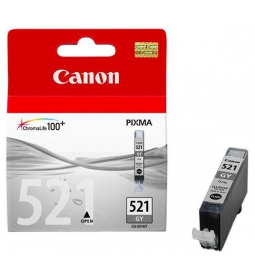 Cartuccia CANON CLI521 Grigia 9ml
